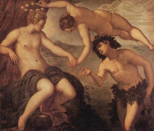 TintorettoBaco y Ariadna