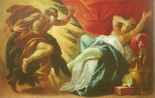 Zeus y Sémele. Luca Ferrari