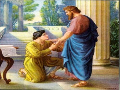 Onesimo y Filemon