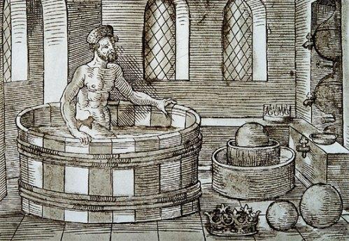 Arquímedes-tinaja