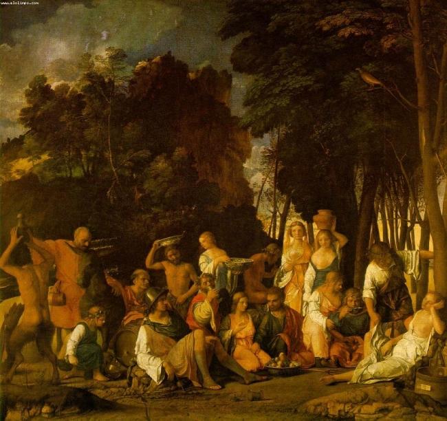 la fiesta de los dioses Bellini53