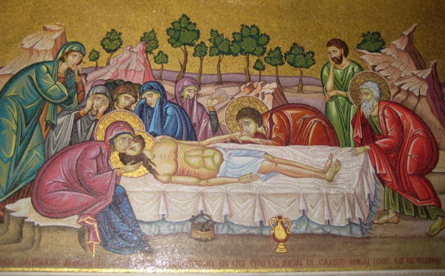 mosaico jerusalen-santo-sepulcro