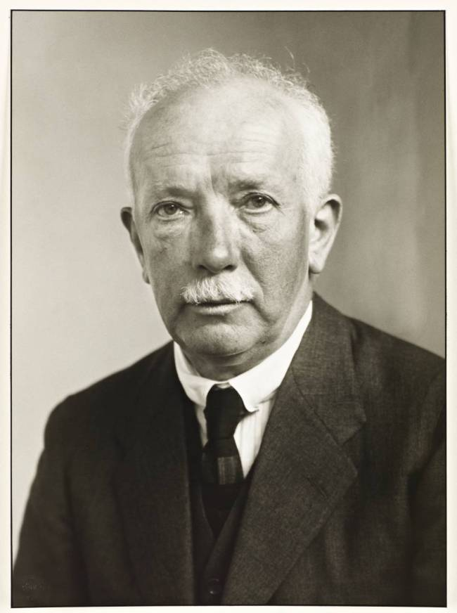 Composer [Richard Strauss] 1925 by August Sander 1876-1964