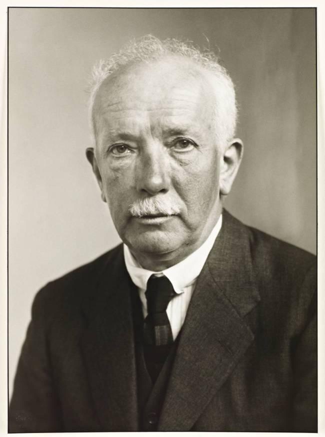 Composer [Richard Strauss] 1925 by August Sander 1876-1964