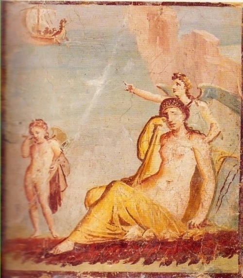 Ariadna abandonada Casa de meleagro