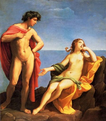 Baco y Ariadna. Guido Reni