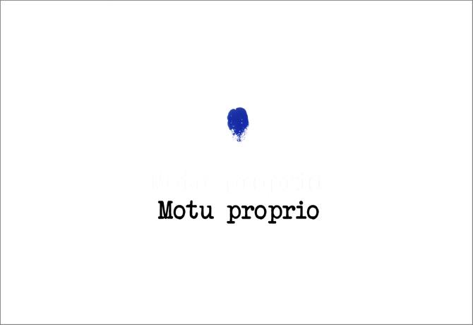 motuproprio