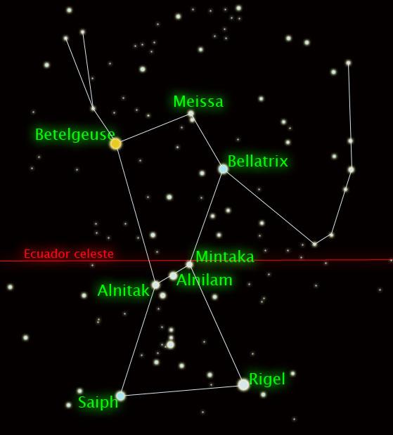 constelacion-orion