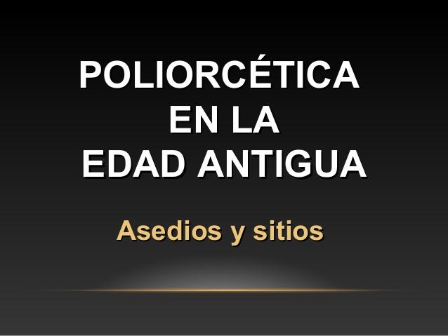 poliorcetica