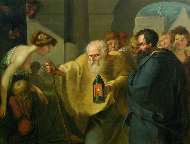Diogenes_looking_for_a_man_-_attributed_to_JHW_Tischbein