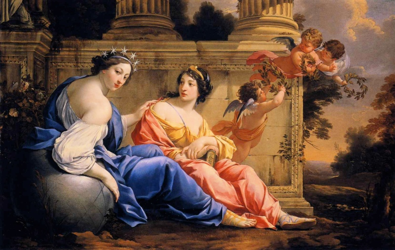 Simon_Vouet_-_The_Muses_Urania_and_Calliope (1)