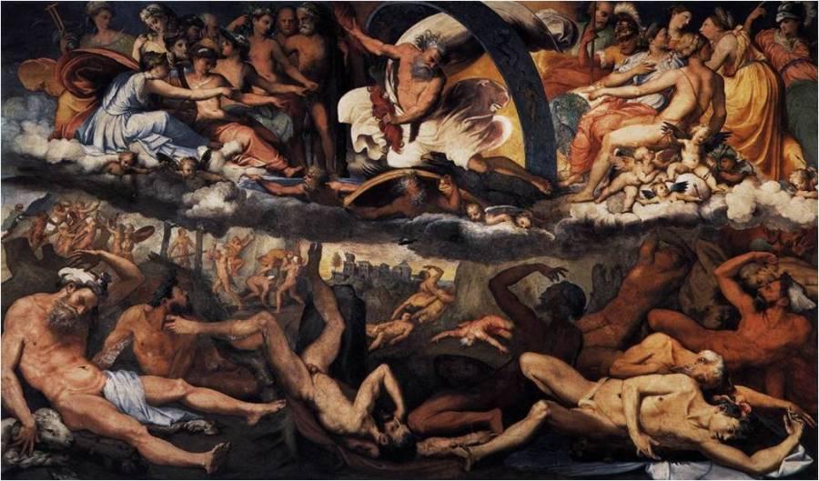 Caída Gigantes Perino del Vaga 1531