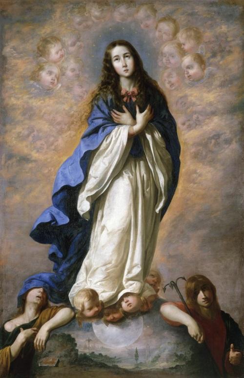 Zurbaran Inmaculada Concepción 1660