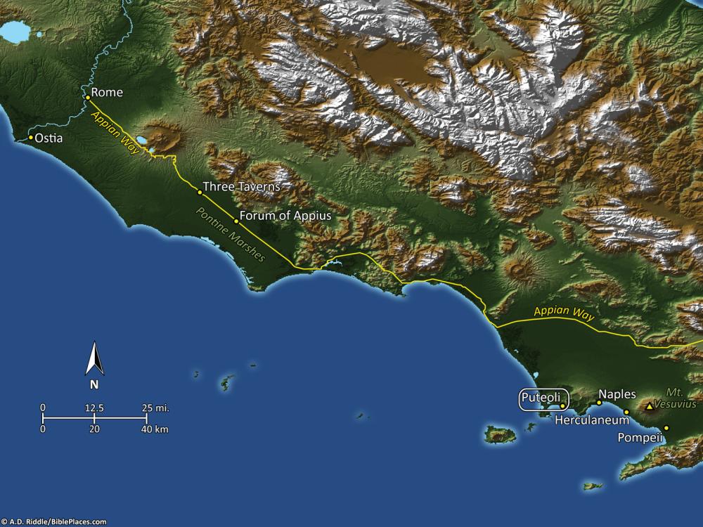 Puteoli_mapa