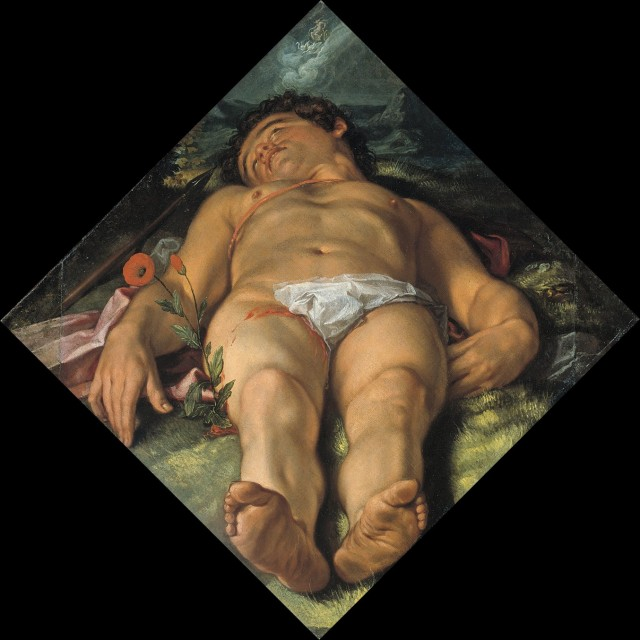 Hendrick Goltzius - Dying Adonis