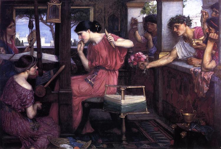 penelope-and-the-suitors-1912