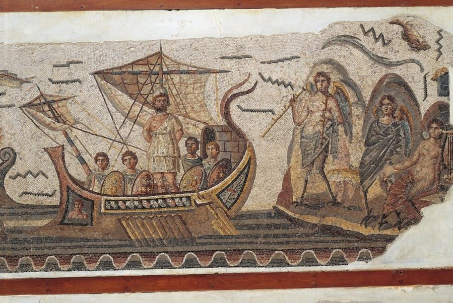 ulises-y-las-sirenas-mosaico-museo-nacional-de-el-bardo-tunez