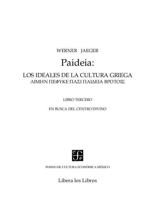 jaeger-werner-paideia-libro-iii