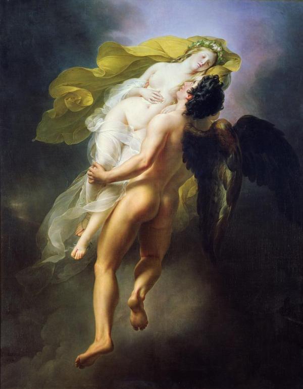 joseph-ferdinand_lancrenon_-_boreas_abducting_oreithyia_1822