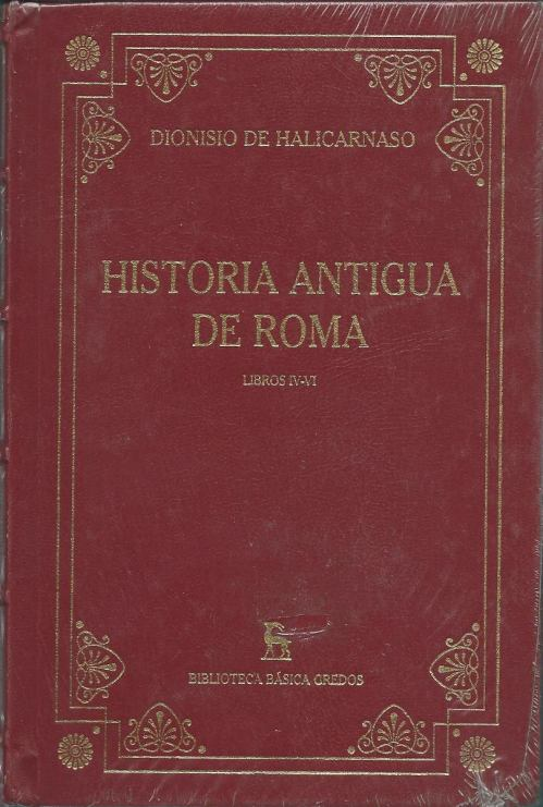 historia-antigua-de-roma-dionisio-de-halicarnaso-gredos