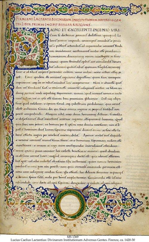 lactantius_divinarum_institutionum_-_liber_primus_manuscript_florence_1420